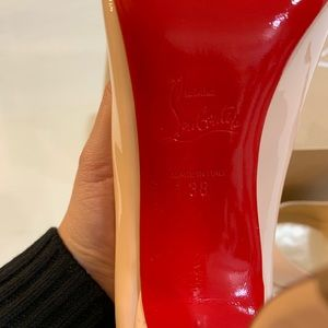 c408911ce5d Christian Louboutin Patent Wawy Dolly 120 Pumps